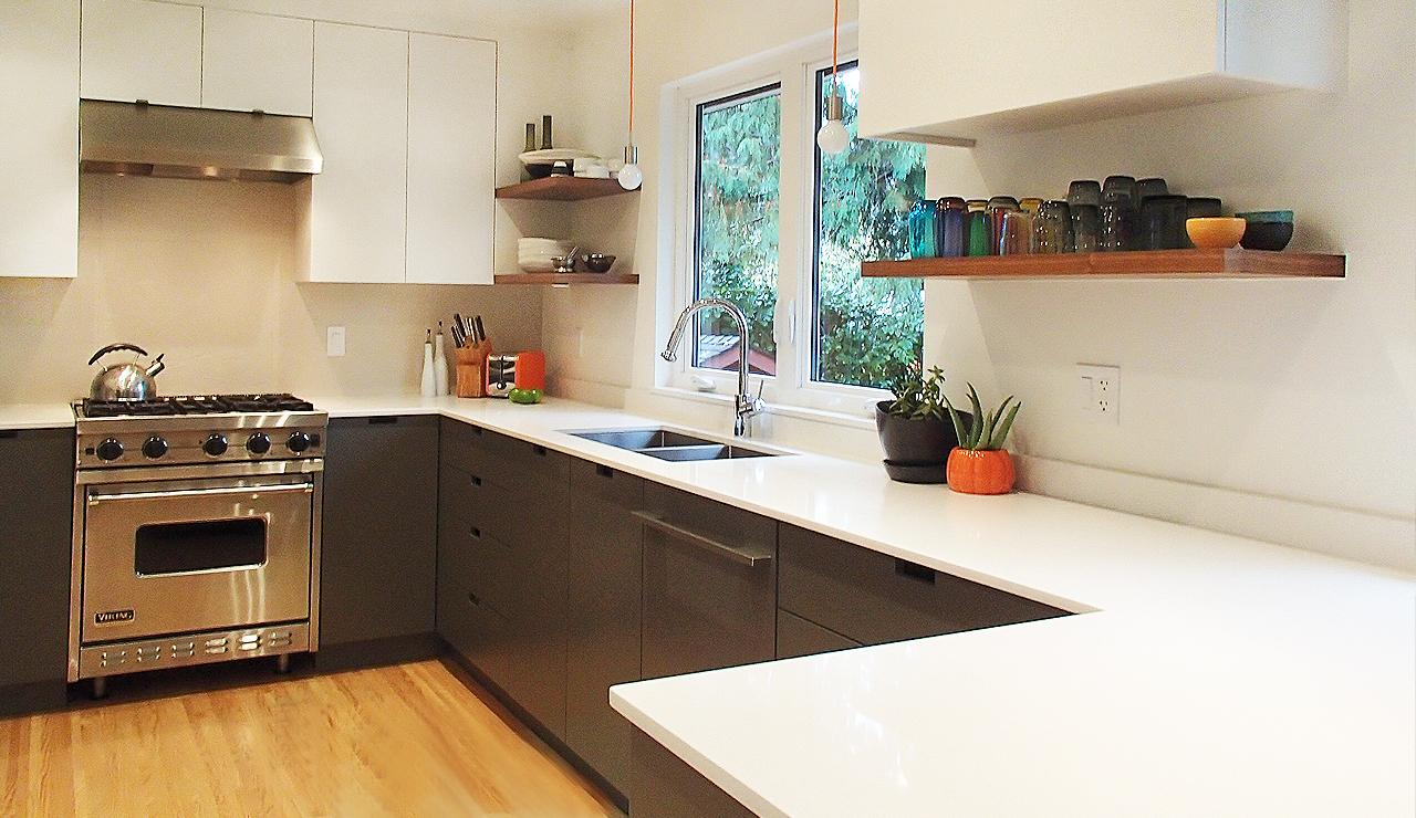 1 wide kitchen