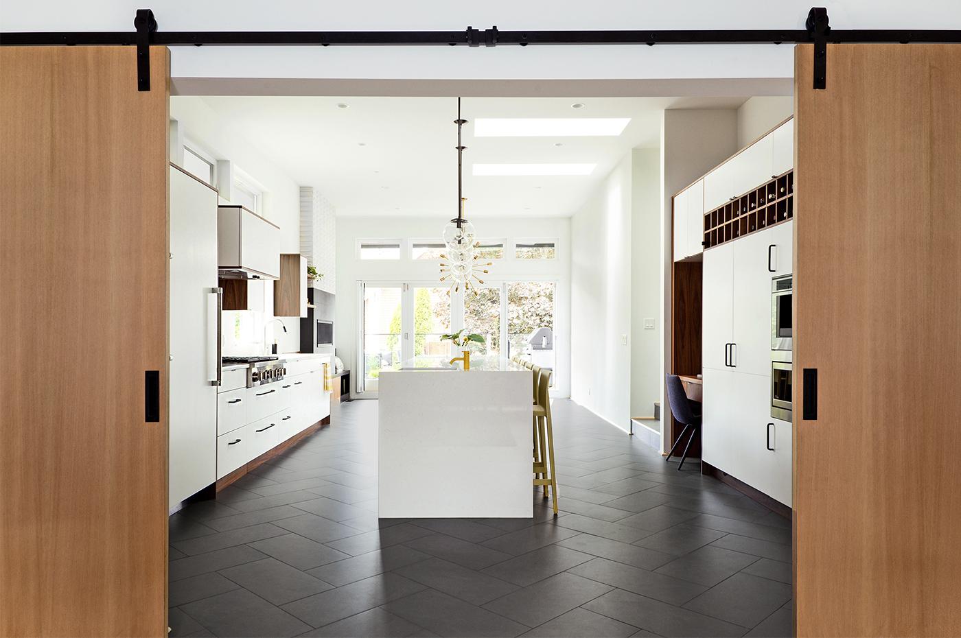 3) kitchen doors