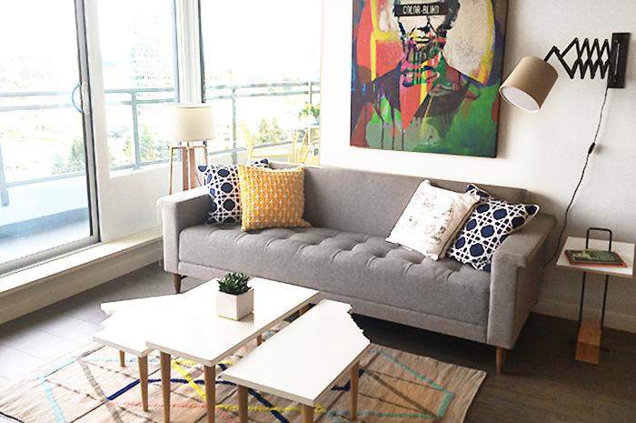 B VIEW living room 1