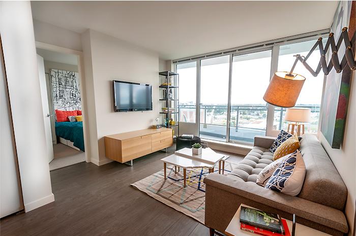 B VIEW living room 3