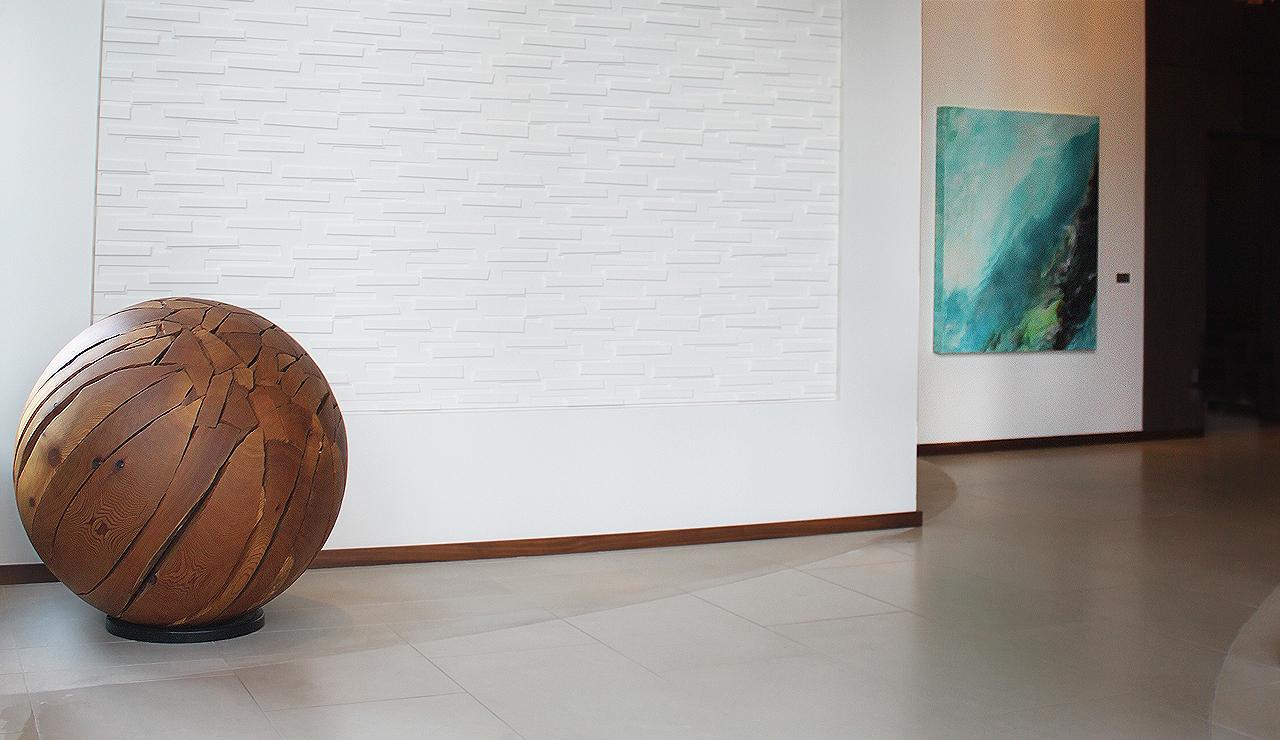 2 wood ball