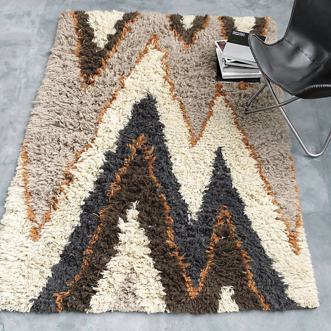 The Vibrations rug from Lenny Kravitz's collaboration with CB2