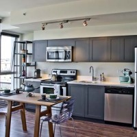 Houzz – A Single-Wall Kitchen